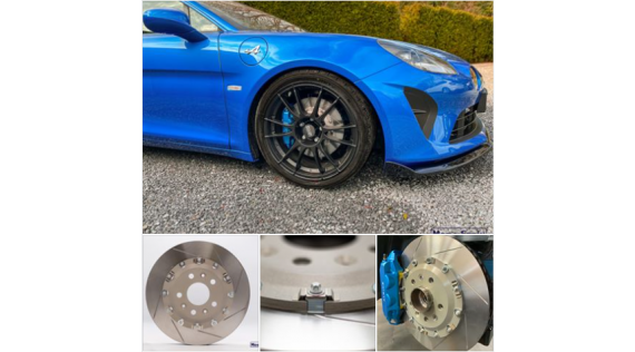 Alpine A110 Braking Kit